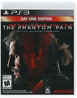 Metal Gear Solid 5 V: The Phantom Pain Day One Edition (PlayStation 3, PS3) New
