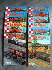 Les 12 Numéros revue Le TRAIN Année1995 Complète
