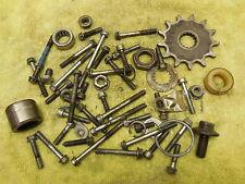 1991 Yamaha YZ125 Engine motor hardware odd parts lot case bolts etc. 91 YZ 125