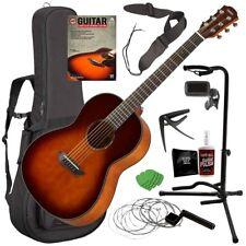 Yamaha Csf1M Acoustic Guitar - Tobacco Brown Sunburst Complete Guitar Bundle