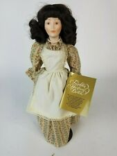 Franklin Mint Heirloom Little Maids of 13 Colonies Dolls Jane of North Carolina