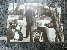 K011 POSTER TUBBERGEN ROADRACE KARL HOPPE AJS 350 CC 1963