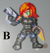 Female Shepard Mass Effect Bioware Perler Hama Artkal Bead Pixel Art