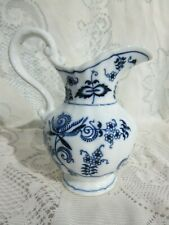 Vintage Blue Danube Rectangle Mark Pitcher 16 oz. 6""