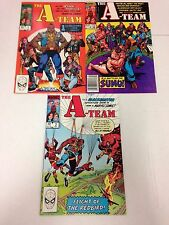 The A-Team #1 2 3 complete set Mr. T 1984