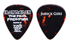Iron Maiden Janick Gers Brown Guitar Pick - 2011 Final Frontier Tour