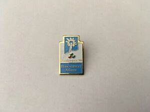 1996 ATLANTA PARALYMPIC OLYMPIC PIN BADGE TEAM NORWAY PINS