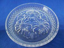 5 dessous verre en Cristal d'arques BRETEUIL Crystal coaster Kristalluntersetz