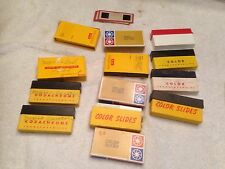 Huge Lot Vintage 1960's Color 35mm SLIDES Mexico/Bull Fighting/Grand Canyon