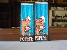 Vintage Lot of 2 Cafe's Popey Bags
