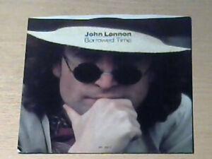 "7"" JOHN LENNON (THE BEATLES) * Borrowed Time (MINT-) PROMO COPY (MADE IN USA)"