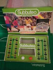 """SUBBUTEO """"LEAGUE EDITION"""" 1981 - 1982 s'  SET EXCELLENT CONDITION COMPLETE"""