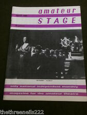 AMATEUR STAGE - 'THE GARDEN' - APRIL 1984