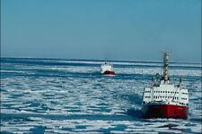 796041 Ice Breaker John A MacDonald Norwegian Bay Canada A4 Photo Print