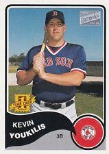 BOSTON RED SOX KEVIN YOUKILIS 2003 TOPPS BAZOOKA MINI #182 ROOKIE CARD RC