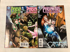 Poison Ivy #4 - #6 Cycle of Life & Death  -Comic Book Lot- Visit My Store
