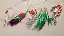 5 pack mackerel feathers - mackerel/bass/pollock/cod/boat fishing