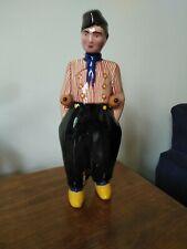 More details for rare zenith gouda bols dutchman figurine liqueur decanter bottle