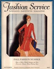 1927 Fashion Service - September - Fall Fashion Number