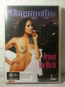 Emanuelle Around the World DVD Laura Gemser Joe D'amato Rare Movie - BRAND NEW