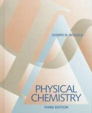 Physical Chemistry, 3rd Edition (Part A and B), Noggle, Joseph H., Good Book