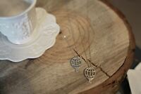 Hot Air Balloon Necklace Gold Simple Pendant Festival Fast Shipping