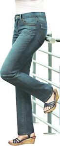Damen Stretch Jeans 9 versch. Modelle Jeanshose Hose Elasthan bequem Öko-Tex