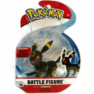 UMBREON Pokemon Battle Feature Articulated Action Figure NEW -EEVEELUTION eevee