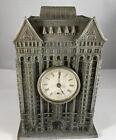 Rare 1890's Masonic Temple , Chicago Souvenir Building Clock