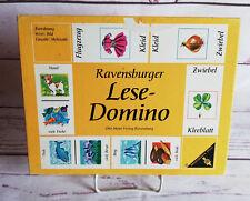 Ravensburger Lese-Domino Zuordnung Wort & Bild Einzahl & Mehrzahl ab 5 Jahren