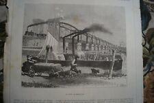 1872 Druck 144 / Brücke von Moerdyck Moerdijk