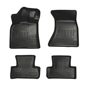 Husky Liners Front And Second Seat Floor Liners For 2012-2018 Audi A6