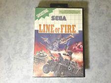 LINE OF FIRE - SEGA MASTER SYSTEM 8 BIT - PAL EU ITA ITALIANO - BOXATO BOXED