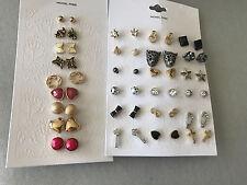 Wholesale Lot STUD Earrings 27 pairs FREE SHIPPING Target Brand Nickel Free #6
