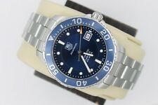 Tag Heuer WAN2111.BA0822 AUTOMATIC Aquaracer Watch Mens Blue 300M Calibre 5 Box