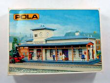 Vintage POLA 551 HO H0 KIT Country Railway Station NIEDLINGEN , NEW NUE NUEUE
