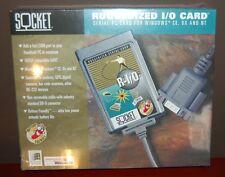 Socket PCMCIA Serial I/O Port Adapter Ruggedized PC Card R-I/O