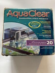 Aquaclear 20 Power Filter (5-20 Gallon Tanks)