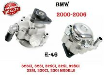 Power Steering Pump 00-06 BMW E46 320i 330Ci 325i 323i P/S PREMIUM QUALITY NEW
