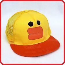 KIDS CHILDRENS BOYS GIRLS YELLOW DUCK DUCKLING BASEBALL CAP HAT-COSTUME-DRESS-UP