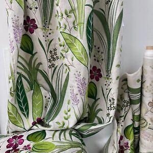 """stoffdesign!""ADORABLE  Luxus-SALE% Leinen natur bestickt Soleil bleu by Jab"