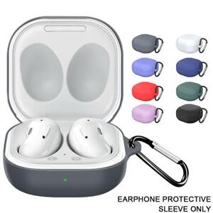 Silicone Case Cover with Hook for Samsung Galaxy buds live/buds Pro