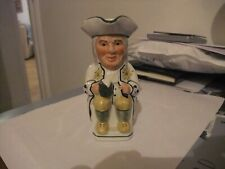 Superb Tony Wood Toby Jug Small Size Philpot In White