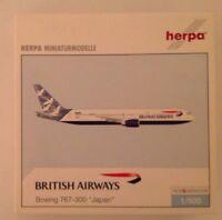 """Herpa Wings British Airways Boeing 767-300 """"Japan"""" 1/500"""