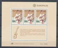 177922) Portugal Madeira Block 6** Europa Cept 1985