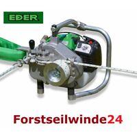 EDER Spillwinde Nordforest ESW 1200, Forstseilwinde, Benzinwinde mit 200 m Seil