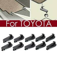 10pcs Floor Mat Hooks Retention Clips Hold Down Clip Holders For Toyota Carpet Fits 2012 Toyota Corolla