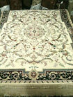 LIDO Savonnerie style hand Knotted Wool Pile Area Rug 6x9