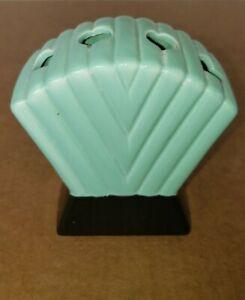 Vintage ART DECO  Ceramic Porcelain Toothbrush Holder