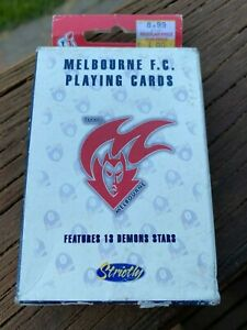 AFL Melbourne Football Club Vintage 1998 Playing Cards
